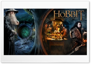 The Hobbit An Unexpected Journey HD Wide Wallpaper for 4K UHD Widescreen desktop & smartphone