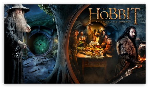 The Hobbit An Unexpected Journey HD wallpaper for HD 16:9 High Definition WQHD QWXGA 1080p 900p 720p QHD nHD ; Mobile 16:9 - WQHD QWXGA 1080p 900p 720p QHD nHD ;