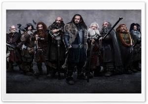 The Hobbit Dwarves HD Wide Wallpaper for 4K UHD Widescreen desktop & smartphone