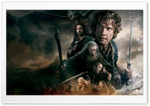 The Hobbit The Battle of the Five Armies 2014 HD Wide Wallpaper for 4K UHD Widescreen desktop & smartphone