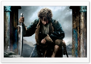 The Hobbit The Battle of the Five Armies 2014 Bilbo Ultra HD Wallpaper for 4K UHD Widescreen desktop, tablet & smartphone