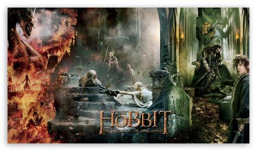 The Hobbit The Battle Of The Five Armies 3 4K HD Desktop