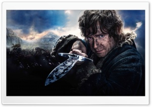 The Hobbit The Battle of the Five Armies Bilbo HD Wide Wallpaper for 4K UHD Widescreen desktop & smartphone