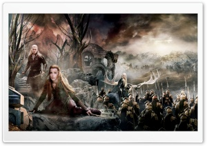 The Hobbit The Battle Of The Five Armies Dual Monitor HD Wide Wallpaper for 4K UHD Widescreen desktop & smartphone