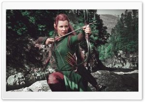 The Hobbit The Battle Of The Five Armies Tauriel Ultra HD Wallpaper for 4K UHD Widescreen desktop, tablet & smartphone
