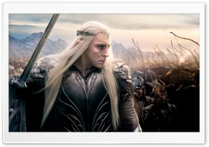 The Hobbit The Battle of the Five Armies Thranduil HD Wide Wallpaper for 4K UHD Widescreen desktop & smartphone