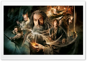 The Hobbit The Desolation of Smaug HD Wide Wallpaper for 4K UHD Widescreen desktop & smartphone