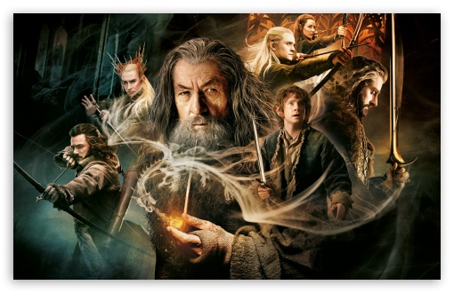 The Hobbit The Desolation of Smaug HD wallpaper for Wide 16:10 5:3 Widescreen WHXGA WQXGA WUXGA WXGA WGA ; HD 16:9 High Definition WQHD QWXGA 1080p 900p 720p QHD nHD ; Standard 3:2 Fullscreen DVGA HVGA HQVGA devices ( Apple PowerBook G4 iPhone 4 3G 3GS iPod Touch ) ; Mobile 5:3 3:2 16:9 - WGA DVGA HVGA HQVGA devices ( Apple PowerBook G4 iPhone 4 3G 3GS iPod Touch ) WQHD QWXGA 1080p 900p 720p QHD nHD ;