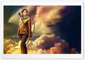 The Hunger Games Catching Fire   Katniss Everdeen (2013) HD Wide Wallpaper for Widescreen
