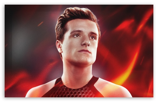 Download The Hunger Games Catching Fire Peeta UltraHD Wallpaper