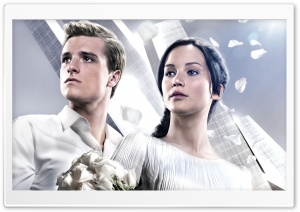 The Hunger Games Catching Fire Victory Tour HD Wide Wallpaper for Widescreen