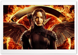 The Hunger Games Mockingjay Part 1 Katniss HD Wide Wallpaper for Widescreen