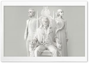 The Hunger Games Mockingjay Peeta, Johanna, President Coriolanus Snow HD Wide Wallpaper for Widescreen