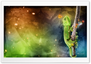 The Iguana HD Wide Wallpaper for Widescreen