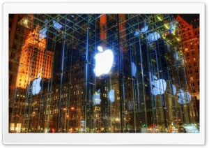 The Incredible Apple Store HD Wide Wallpaper for Widescreen