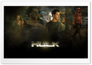 The Incredible Hulk HD Wide Wallpaper for Widescreen