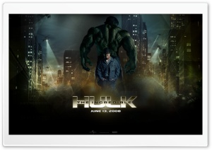 The Incredible Hulk 2 HD Wide Wallpaper for Widescreen