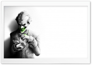 The Joker Arkham City HD Wide Wallpaper for Widescreen