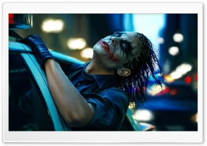 The Joker Painting HD Wide Wallpaper for Widescreen