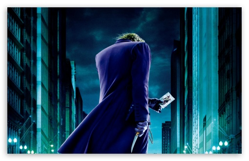 The Joker The Dark Knight HD wallpaper for Standard 4:3 5:4 Fullscreen UXGA XGA SVGA QSXGA SXGA ; Wide 16:10 5:3 Widescreen WHXGA WQXGA WUXGA WXGA WGA ; HD 16:9 High Definition WQHD QWXGA 1080p 900p 720p QHD nHD ; Other 3:2 DVGA HVGA HQVGA devices ( Apple PowerBook G4 iPhone 4 3G 3GS iPod Touch ) ; Mobile VGA WVGA iPhone iPad PSP Phone - VGA QVGA Smartphone ( PocketPC GPS iPod Zune BlackBerry HTC Samsung LG Nokia Eten Asus ) WVGA WQVGA Smartphone ( HTC Samsung Sony Ericsson LG Vertu MIO ) HVGA Smartphone ( Apple iPhone iPod BlackBerry HTC Samsung Nokia ) Sony PSP Zune HD Zen ; Tablet 2 Android 3 DVGA HVGA HQVGA devices ( Apple PowerBook G4 iPhone 4 3G 3GS iPod Touch ) ;