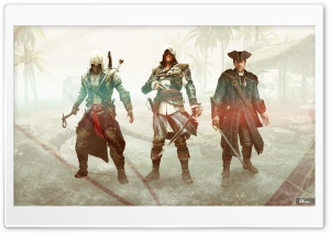 The Kenways - Assassins Creed HD Wide Wallpaper for Widescreen
