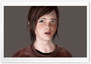 The Last of Us - Ellie HD Wide Wallpaper for Widescreen