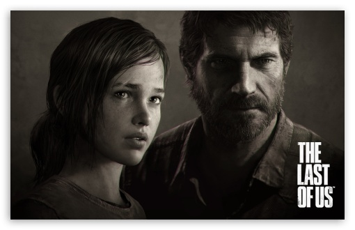 The Last Of Us Joel Ellie Portrait Ultra Hd Desktop