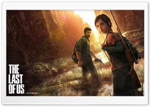 The Last of Us Box Art HD Wide Wallpaper for Widescreen