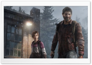 The Last of Us Winter HD Wide Wallpaper for Widescreen