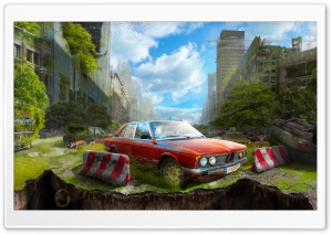 The Last vehicle HD Wide Wallpaper for Widescreen
