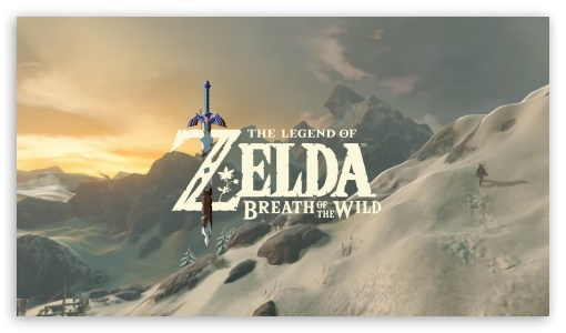 The Legend Of Zelda Breath Of The Wild Ultra Hd Desktop Background Wallpaper For 4k Uhd Tv