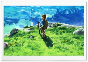 The Legend of Zelda Breath of the Wild 2017 HD Wide Wallpaper for Widescreen
