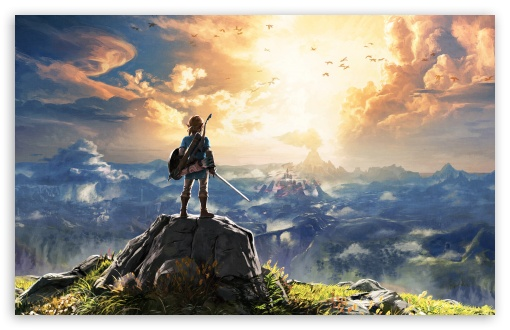 Breath Of The Wild Desktop Wallpaper: The Legend Of Zelda Breath Of The Wild Adventure Video
