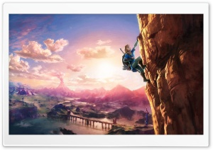 The Legend of Zelda Breath of the Wild Link HD Wide Wallpaper for Widescreen