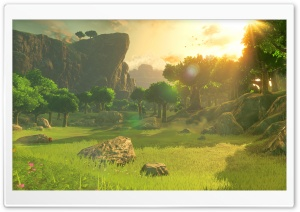 The Legend of Zelda Breath of the Wild Screenshot HD Wide Wallpaper for Widescreen