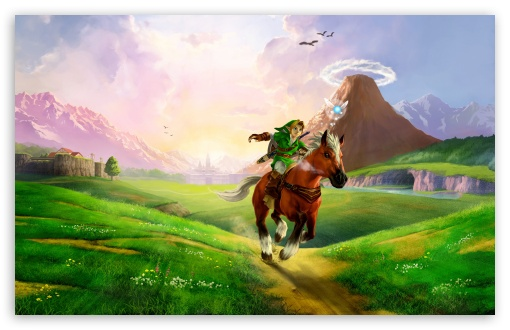 The Legend Of Zelda Ocarina Of Time 3D 4K HD Desktop