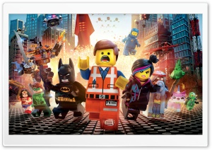 The Lego Movie 2014 HD Wide Wallpaper for 4K UHD Widescreen desktop & smartphone
