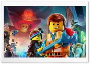 The Lego Movie 2014 Ultra HD Wallpaper for 4K UHD Widescreen desktop, tablet & smartphone