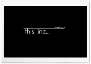 The Line Ultra HD Wallpaper for 4K UHD Widescreen desktop, tablet & smartphone
