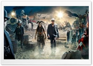 The Lone Ranger Movie HD Wide Wallpaper for 4K UHD Widescreen desktop & smartphone