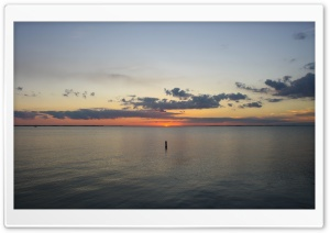The lonely buoy. HD Wide Wallpaper for Widescreen