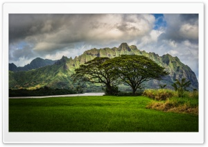 The Lost Cliffs of Oahu HD Wide Wallpaper for Widescreen
