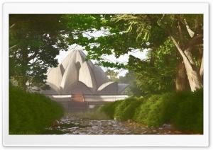 The Lotus Temple Ultra HD Wallpaper for 4K UHD Widescreen desktop, tablet & smartphone