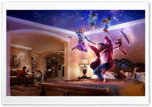 The Magic Of Childhood HD Wide Wallpaper for Widescreen