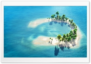 The Maldives Little Island HD Wide Wallpaper for Widescreen