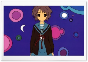 The Melancholy Of Haruhi Suzumiya Nagato Yuki HD Wide Wallpaper for Widescreen