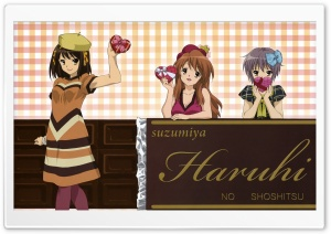 The Melancholy of Haruhi Suzumiya VI HD Wide Wallpaper for Widescreen