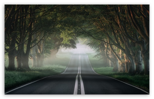 the most beautiful road in the world 2 wallpapers