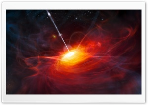 The Most Distant Quasar HD Wide Wallpaper for 4K UHD Widescreen desktop & smartphone