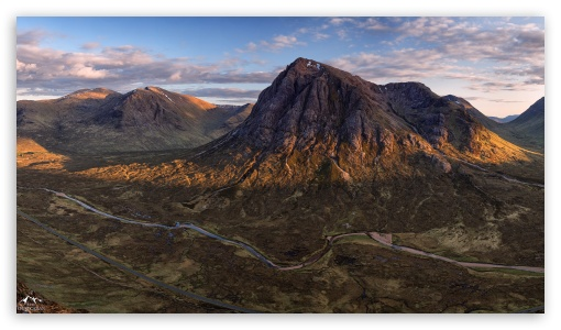 Download The Mountains of Scotland Wallpaper